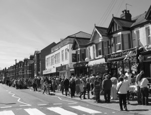 Earlsdon Street during the 2011 Festival